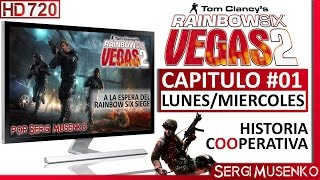 Video de Rainbow Six: vegas 2 - Modo Historia Gameplay en Español Capitulo 1