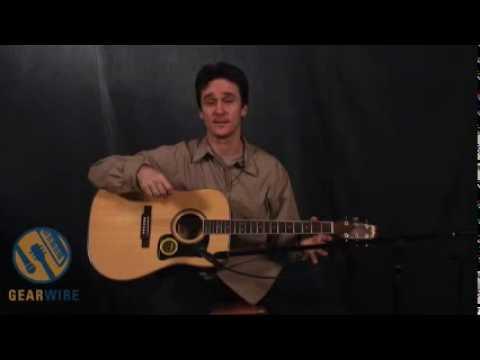 Washburn D10S: A Bright, Beautiful Sounding Guitar - YouTube
