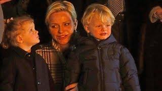 Fürstin Charlène verrät private Details über die Zwillinge