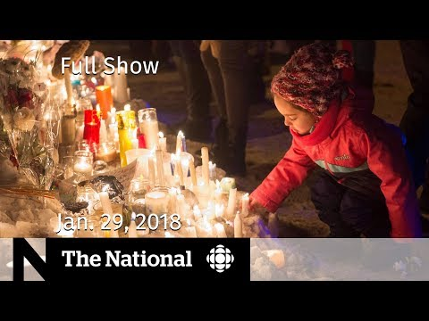 The National for Monday January 29, 2018 - Bruce McArthur, Mosque Vigil, #MeToo