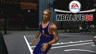NBA Live 06 HD - {Xbox} - Blacktop Madness ft. Starbury vs Skip to my Lou! | Pound for Pound Ballin!