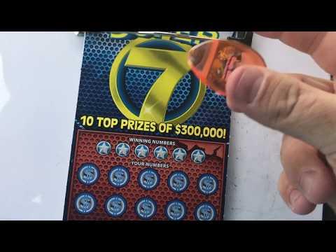 AWESOME LOTTERY WINNER!!! 7 MATCHING NUMBERS!!! PA LOTTERY!!