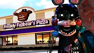 BUILDING THE FNAF 2 PIZZERIA AND TOY ANIMATRONICS! || Five Nights at Freddys Animatronic Universe