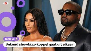 Superster Kim Kardashian en rapper Kanye West gaan scheiden