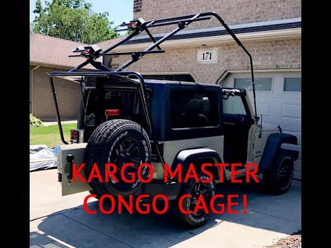 Kargo Master Cage for Jeep Wrangler Review