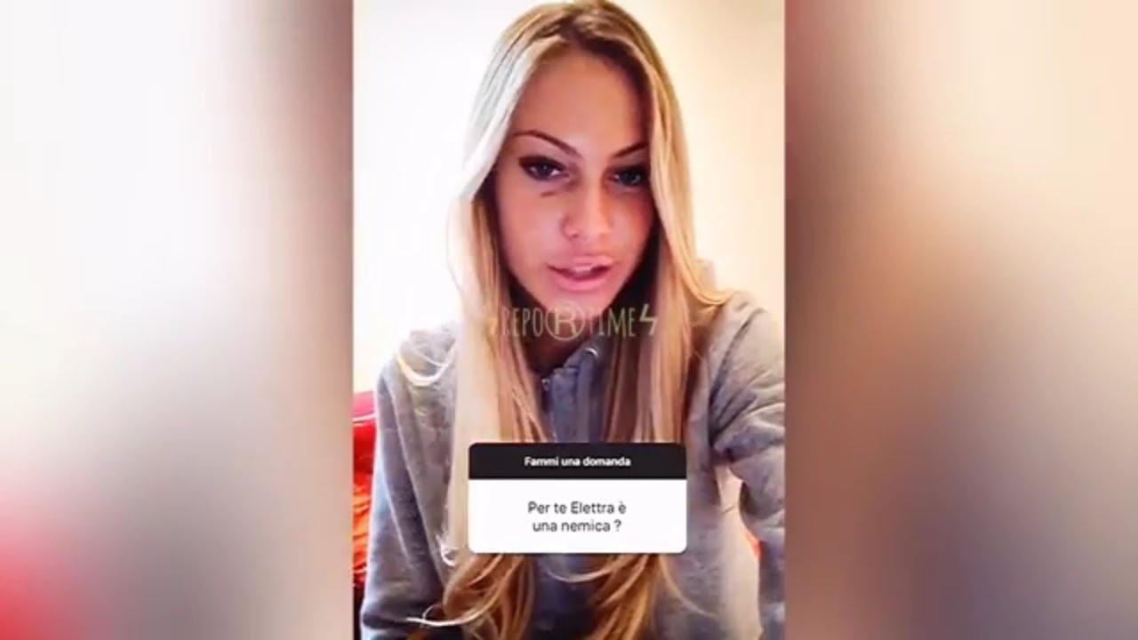 Taylor Mega Parla Di Elettra Lamborghini Youtube