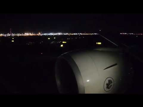 Air France Boeing 777-300ER Night Take Off New York JFK (JFK/KJFK) AWESOME GE90 ENGINE SOUND - HD
