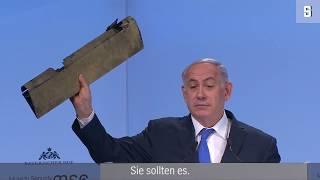 """Netanyahu zeigt Trümmer von iranischer Drohne: """"Testen Sie nicht Israels Entschlossenheit"""""""