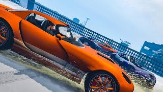 This Is My ROOF! (Sumo Minigame) - GTA V Online Funny Moments | JeromeACE