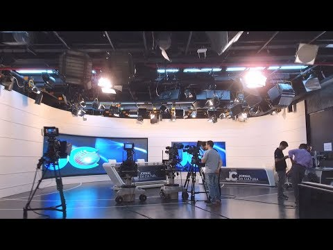 TV Cultura Installed Panasonic Broadcasting Equipment To Modernize The News Studio