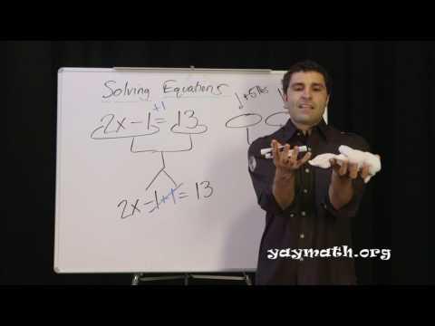 Algebra - Solving Equations