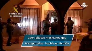 La red contaba con pilotos de España aunque también traían de Hispanoamérica, sobre todo de México, pilotos noveles a los que formaban en España, señala la Guardia Civil española sobre el grupo delictivo