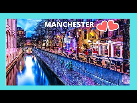 MANCHESTER, A Tour Of Famous CANAL STREET (Gay Village), ENGLAND