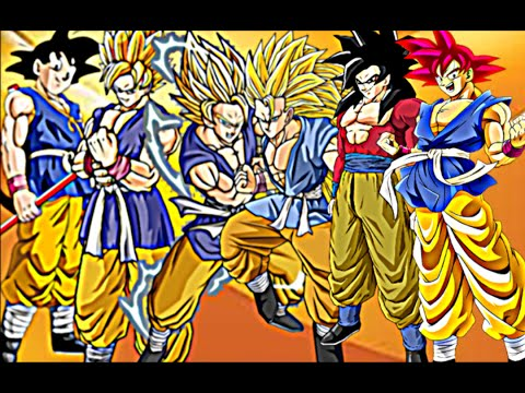DBZ:Goku - All Forms 2016彼の悟空 - YouTube