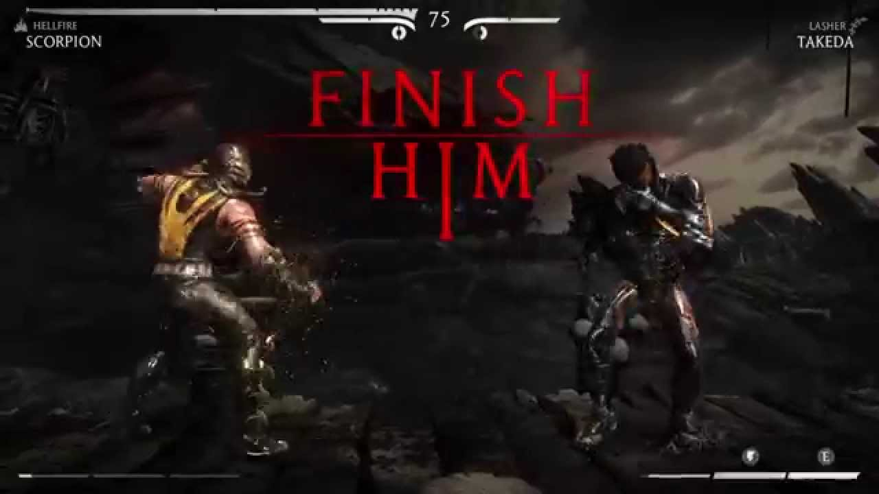 Mortal Kombat X Ps4 Gameplay Scorpion Fatality Who S Next