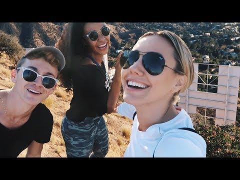 Hiking Behind The Hollywood Sign with Damon and Jo!