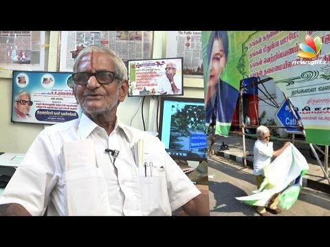 Traffic Ramasamy Interview : I was the first to file assets case against Jayalalitha