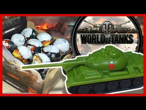 World of Tanks, шоколадные яйца Мир танков (Kinder Surprise eggs. Киндер сюрприз)