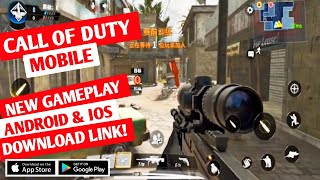 CALL OF DUTY MOBILE New 5 VS 5 Multiplayer/Battle Royal Gameplay