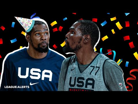 Team USA: Watch Everyone Sing Nets' Kevin Durant Happy ...