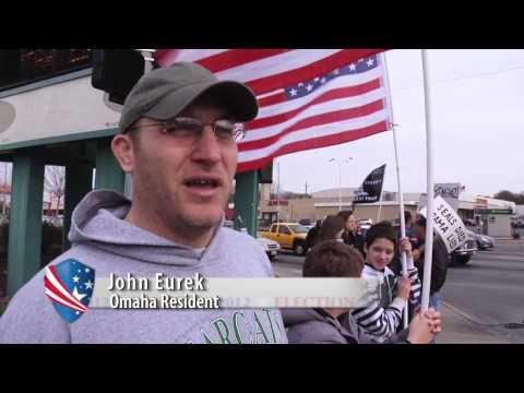 Benghazi Street Protest in Omaha Nebraska - Tea Party Patriots
