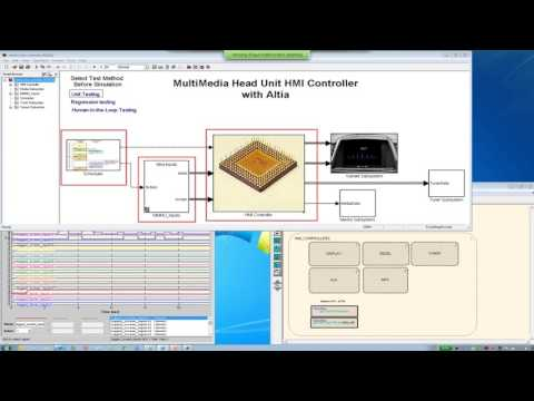 How to Develop Interactive User Interfaces for Simulink Using Altia Design