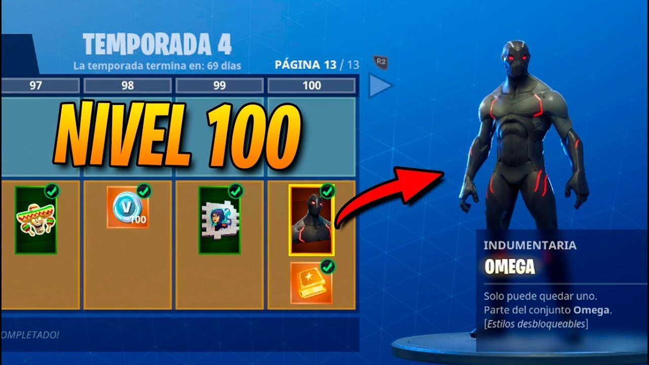 Temporada 4 skin nivel 100 todo comprado fortnite for Fortnite temporada 5 sala