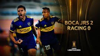 Boca Juniors vs. Racing Club [2-0] | RESUMEN | Cuartos de Final | CONMEBOL Libertadores