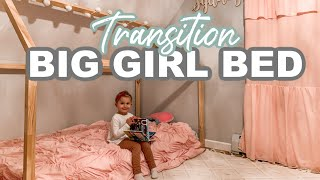 TRANSITIONING MY TODDLER TO A BIG GIRL BED| Tres Chic Mama