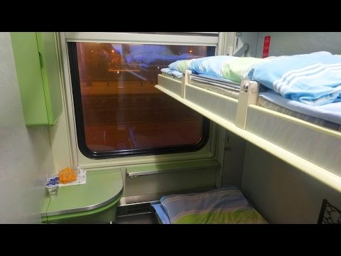 To Poprad-Tatry with EuroNight Bohemia EN 443 Praha - Humenne in a Sleeping Car