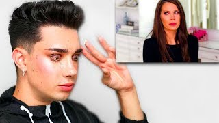 James Charles Reacts To Tati's 'Why I Did It' Video (He Cried)