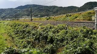 E257系0番台 M-102編成 長野入場回送