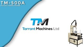 TM-500A l Rigid Box Forming Machine