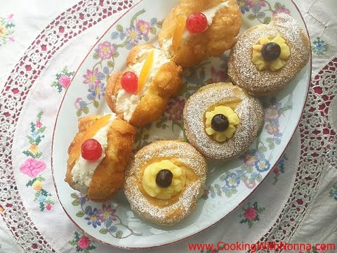 How To Make Zeppole & Sfingi - Rossella's Cooking With Nonna