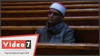 بالفيديو.. حضور إمام مسجد رابعة العدوية للشهادة فى قضية التخابر مع قطر