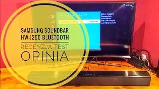samsung soundbar hw j250 bluetooth recenzja test opinia pl
