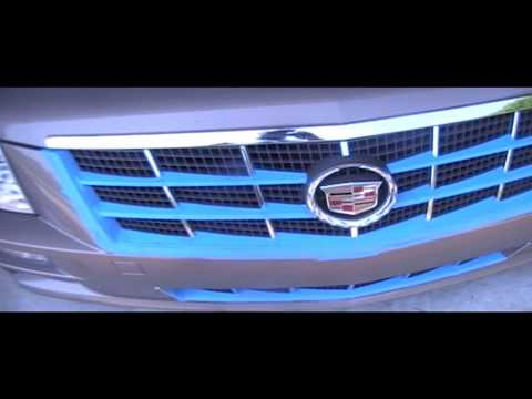 How to Spray paint 2008 Cadillac Grill Custom Cadillac STS Grill