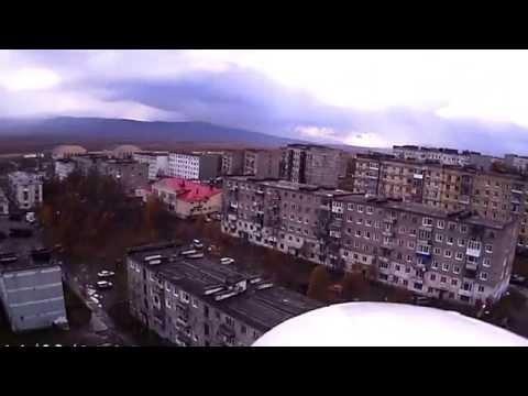 Сокол. Вид с камеры на радиоуправляемом самолете. Сентябрь 2014