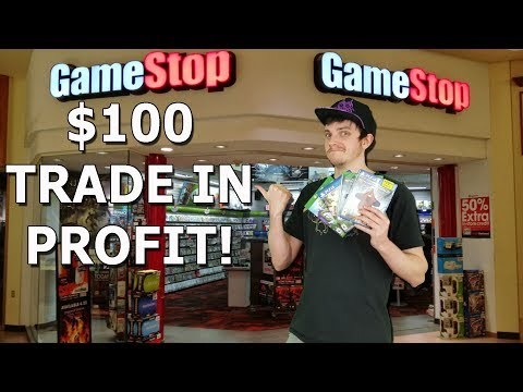 How to Easily Make $100 in Trade In Credit at GameStop!