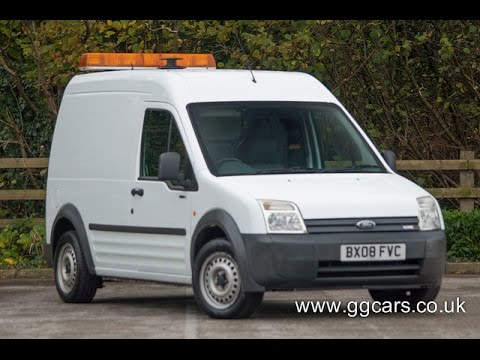 2008 08 ford transit connect high roof crew van l tdci 90ps youtube. Black Bedroom Furniture Sets. Home Design Ideas