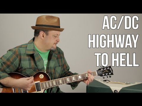 AC/DC - Highway to Hell - Guitar Lesson - How to Play Electric Guitar TutorialC