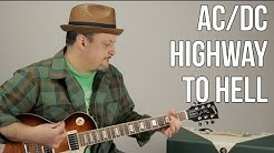 AC/DC Highway to Hell Electric Guitar Lesson + Tutorial
