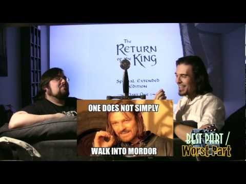 The Lord of the Rings: The Return of the King extended edition review part 1 of 2