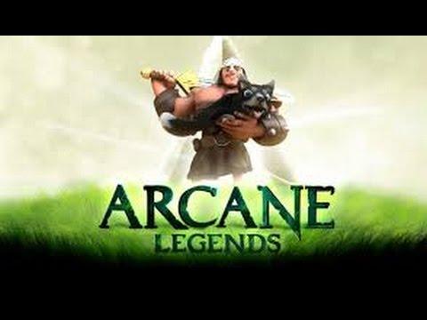 Arcane Legends Warrior Build LV 61