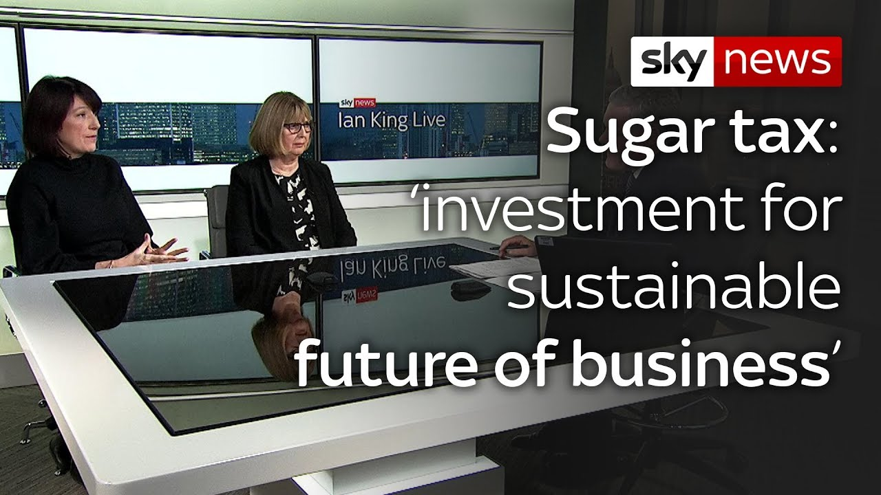 Chief Executive of Lucozade says sugar tax an 'investment for sustainable future of business'
