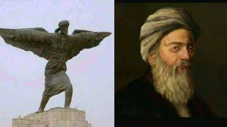 شاهد أول انسان يطير عباس ابن فرناس !