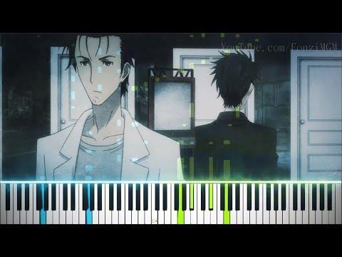 "[Steins;Gate 0 Anime ED] ""LAST GAME"" - Zwei (Synthesia Piano Tutorial)"