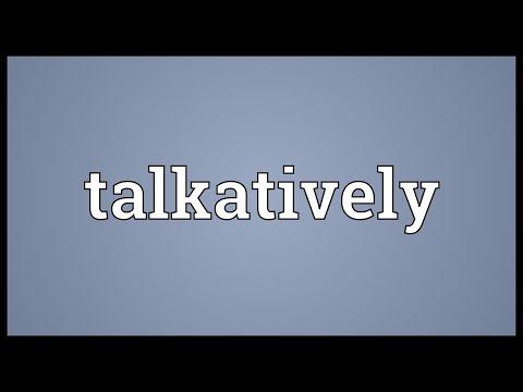 Header of talkatively