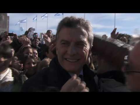 La Casa Rosada difundió un video con la versión oficial del acto por el Día de la Bandera