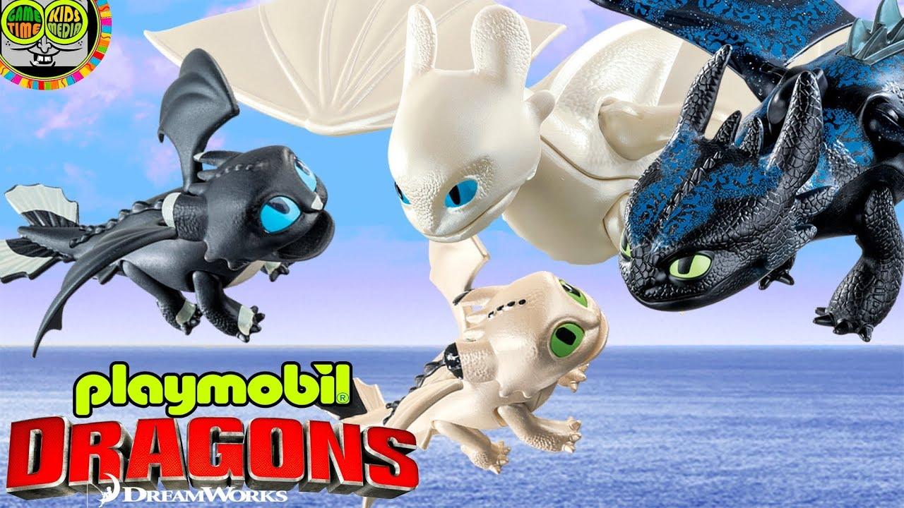 Playmobil Dragons 3 Hipo y Astrid con Bebé Dragón